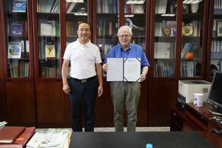 Visiting Professor Dénes Lajos Nagy from Hungary